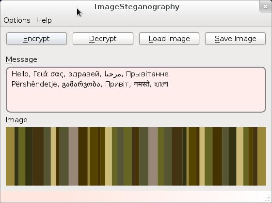 Steganography System (Prototype). (1/5)